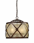 ELK Three Light Chandelier Cumberland EK-14051