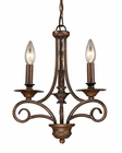 ELK Three Light Chandelier Gloucester EK-15041