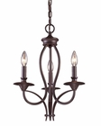 ELK Three Light Chandelier Medford EK-61031