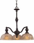 ELK Three Light Chandelier Norwich EK-66196