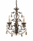 ELK Three Light Chandelier Rochelle EK-3343