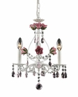 ELK Three Light Chandelier Rosavita EK-4053