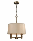 ELK Three Light Pendelier Baxter EK-31264