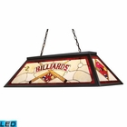 ELK Tiffany Game Room-Lighting 4-Light Billiard/Island Light in Tiffany Bronze Metal - Led EK-70053-4-LED