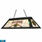 ELK Tiffany Game Room-Lighting 4-Light Billiard/Island Light in Tiffany Bronze Metal - Led EK-70083-4-LED