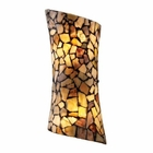 ELK Trego 2-Light Sconce With Multi-Colored Stone in Dark Rust  EK-60016-2