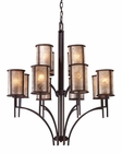 ELK Twelve Light Chandelier Barringer EK-15036