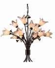 ELK Twelve Light Chandelier Fioritura EK-7959