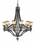 ELK Twelve Light Chandelier Georgian Court EK-2434