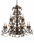 ELK Twelve Light Chandelier Rochelle EK-3345