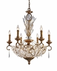 ELK Twelve Light Chandelier Senecal EK-2404