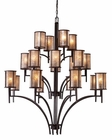 ELK Twenty Light Chandelier Barringer EK-15037