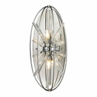 ELK Twilight Collection 2 Light Sconce in Polished Chrome EK-11560-2