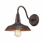 ELK Urban Lodge 1 Light Sconce in Weathered Bronze EK-66945-1