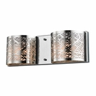 ELK Ventor 2 Light Vanity in Polished Chrome EK-17181-2
