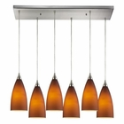 ELK Vesta 6 Light Pendant in Satin Nickel EK-2582-6RC