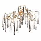 ELK Veubronc?  6-Light Sconce in Tahla Bronze With Clear Crystal EK-1742-6