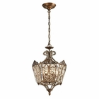 ELK Villegosa Collection 6 Light Pendant in Spanish Bronze EK-11720-6