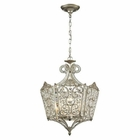 ELK Villegosa Collection 8 Light Pendant in Aged Silver EK-11711-8