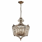 ELK Villegosa Collection 8 Light Pendant in Spanish Bronze EK-11721-8