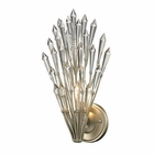 ELK Viva Collection 1 Light Sconce in Aged Silver EK-31430-1