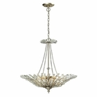 ELK Viva Collection 6 Light Pendant in Aged Silver EK-31432-6