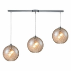 ELK Watersphere 3 Light Pendant in Polished Chrome EK-31380-3L-CMP