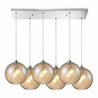 ELK Watersphere 6 Light Pendant in Polished Chrome EK-31380-6RC-CMP