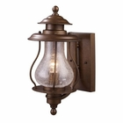 ELK Wikshire 1-Light Outdoor Sconce in Coffee Bronze EK-62005-1