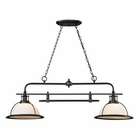 ELK Wilmington Collection 2 Light Island/Billiard Light in Oil Rubbed Bronze EK-55046-2