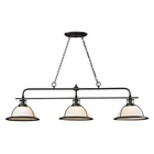 ELK Wilmington Collection 3 Light Island/Billiard Light in Oil Rubbed Bronze EK-55047-3