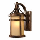 ELK Winona Collection 1 Light Outdoor Sconce in Hazelnut Bronze EK-45095-1
