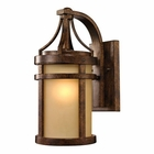 ELK Winona Collection 1 Light Outdoor Sconce in Hazelnut Bronze EK-45096-1