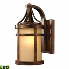 ELK Winona Collection 1 Light Outdoor Sconce in Hazelnut Bronze - Led EK-45095-1-LED