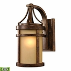 ELK Winona Collection 1 Light Outdoor Sconce in Hazelnut Bronze - Led EK-45096-1-LED
