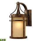 ELK Winona Collection 1 Light Outdoor Sconce in Hazelnut Bronze - Led EK-45097-1-LED