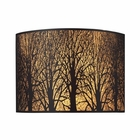 ELK Woodland Sunrise 2-Light Sconce in Aged Bronze EK-31070-2