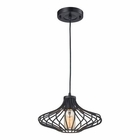 ELK Yardley 1 Light Pendant in Oil Rubbed Bronze EK-14240-1