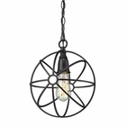 ELK Yardley 1 Light Pendant in Oil Rubbed Bronze EK-14241-1