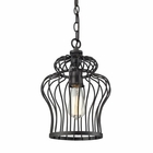 ELK Yardley 1 Light Pendant in Oil Rubbed Bronze EK-14242-1