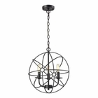 ELK Yardley 3 Light Pendant in Oil Rubbed Bronze EK-14243-3
