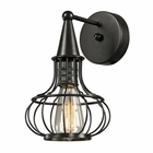 ELK Yardley Collection 1 Light Sconce in Oil Rubbed Bronze EK-14190-1
