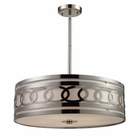 ELK Zarah 5-Light Pendant in Polished Nickel EK-10125-5