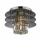 ELK Zoey 3 Light Semi Flush in Polished Chrome EK-31590-3