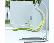 Enclave Patio Lounge Chair in White, Green by Modway MY-EEI737WG