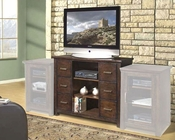 Encore Entertainment - 50inch TV Stand in Dark Walnut AP-TEL-CS50