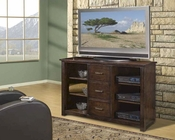 Encore Entertainment - 62inch TV Stand in Dark Walnut AP-TEL-CS62
