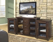 Encore Entertainment - Entertainment Center in Dark Walnut AP-TEL-2
