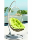 Encounter Patio Lounge Chair in White, Green by Modway MY-EEI738WG