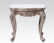 End Table in Antique Platinum Chantelle by Acme AC80541